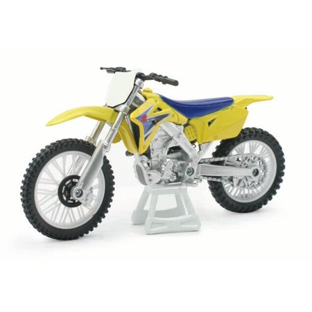 1 18 Scale Die Cast Motorcycle   Yellow Suzuki Rm Z450