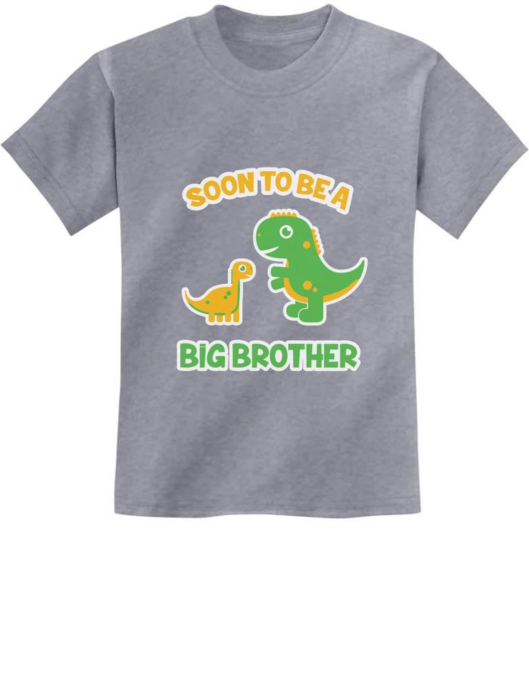 Big Sister Dinosaur Announcement Toddler T-Shirt
