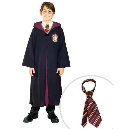 Kid's Harry Potter Gryffindor Robe and Harry Potter Tie - Gryffindor Robe And Tie