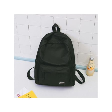 b26df21c76 Women Men Nylon Casual Travel Backpack Shoulder School College Book Bag  Rucksack