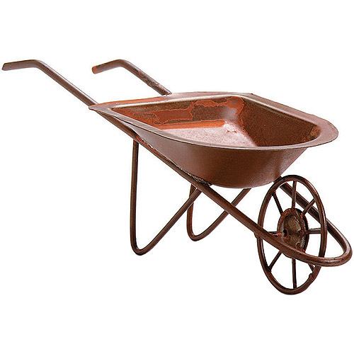 Timeless Miniatures, Rusted Tin Wheelbarrow
