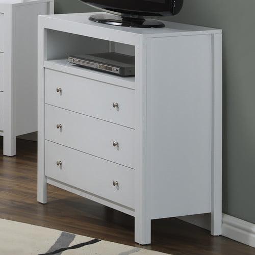 Glory Furniture Aries 3 Drawer Media Chest