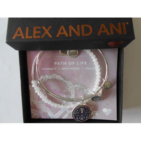 Alex And Ani Womens Art Infusion Path Of Life Ii Bracelet Set