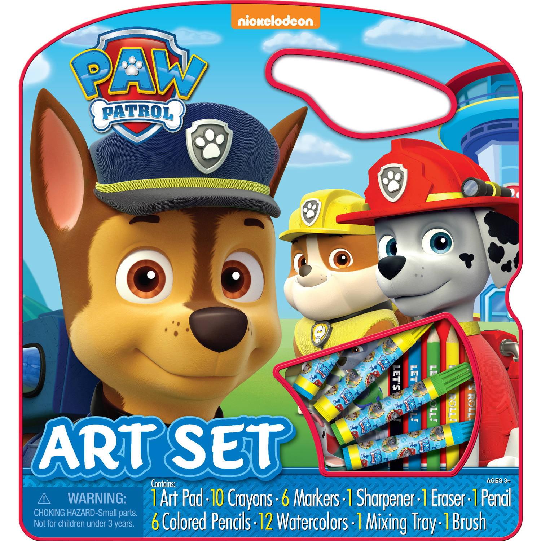 Nickelodeon Paw Patrol Character Art Set