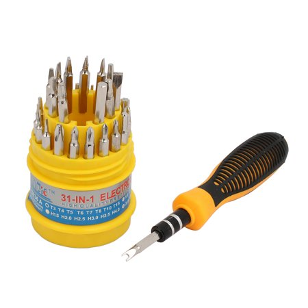 Nonslip Handle Multifunctional Nonmagnetic Screwdriver Bit Set 31 in 1 - image 1 de 5