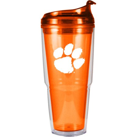 Clemson Tigers Thermos - Clemson Tigers 20oz. Dual Wall Tumbler - No Size