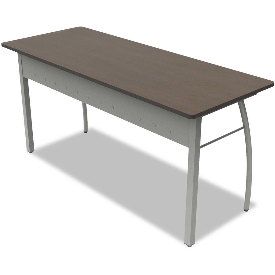 Linea Italia Trento Line Rectangular Desk 59 1 8w X 23 5