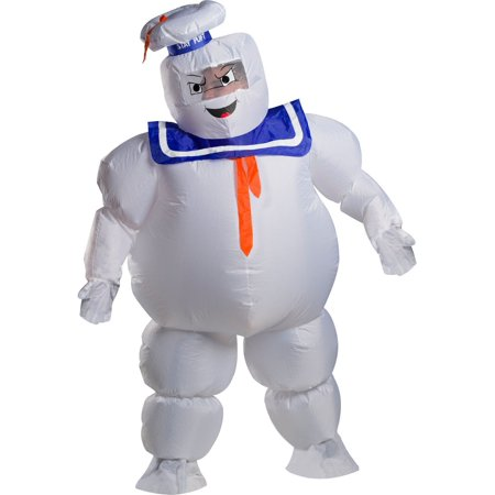 Ghostbusters Adult Stay Puft Inflatable Adult (Inflatable Costumes From The 80's)