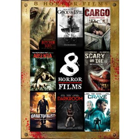8 Feature Compliation  Horror Features   Butcher Boys   House Of Good   Evil   Cargo   Absentia   Scary Or Die   Darktourist   Darkroom   Crave
