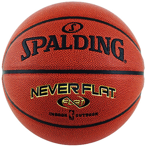 Spalding Neverflat Indoor/Outdoor Basketball