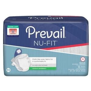 Prevail Nu-Fit Adult Brief Medium 32