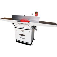 Shop Fox W1857 8 Inch 3 HP 230 Volt Dovetail Jointer & Planer with Mobile Base