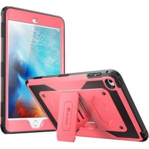 i-Blason iPad Mini 4 Armorbox Full Body Kickstand Case with Screen Protector - iPad mini 4 - Pink - Thermoplastic Polyurethane (TPU), Polycarbonate