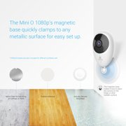 EZVIZ Mini O 1080p - Wireless Wi-Fi Cloud Camera, Home Video Monitoring  Security Camera, Works with Google Home