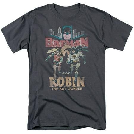 Batman Classic Tv Classic Duo Mens Short Sleeve Shirt](Classic Duos For Halloween)