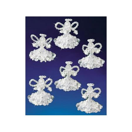 The Beadery Christmas Angel Ornament Craft Kit - Christmas Craft Kits
