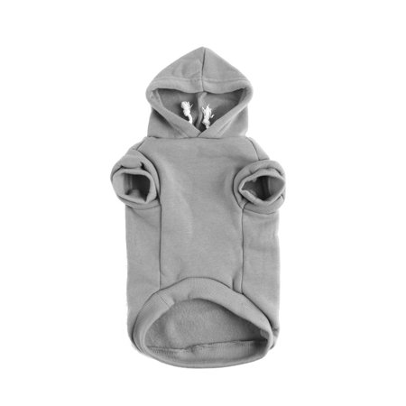 Cotton Dog Winter/Spring/Fall Sweatshirt Hoody Pet Clothes Warm Coat Grey XS - image 7 of 7