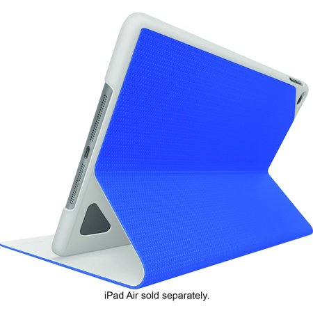 Logitech Hinge Nylon EPS Flexible Case for iPad Air 2 w/Any-Angle Stand - Blue (Ipad Air 2 Logitech Type+)