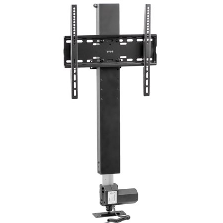 - VIVO Black Compact Motorized Vertical TV Stand Lift for Screens 32