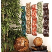Product Image Decmode Modern 24 X 20 Inch Colored Metal Wall Decor