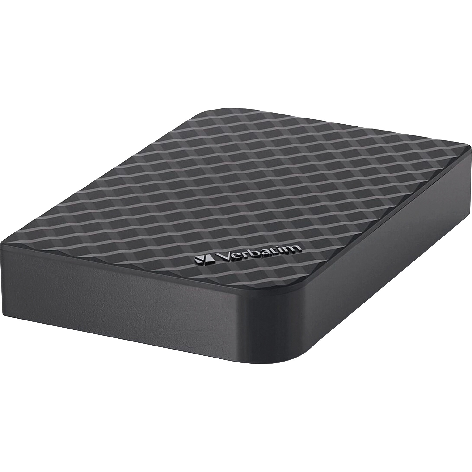 Verbatim, VER97580, 2TB Store 'n' Save Desktop Hard Drive, USB 3.0 - Diamond Black, 1, Diamond Black