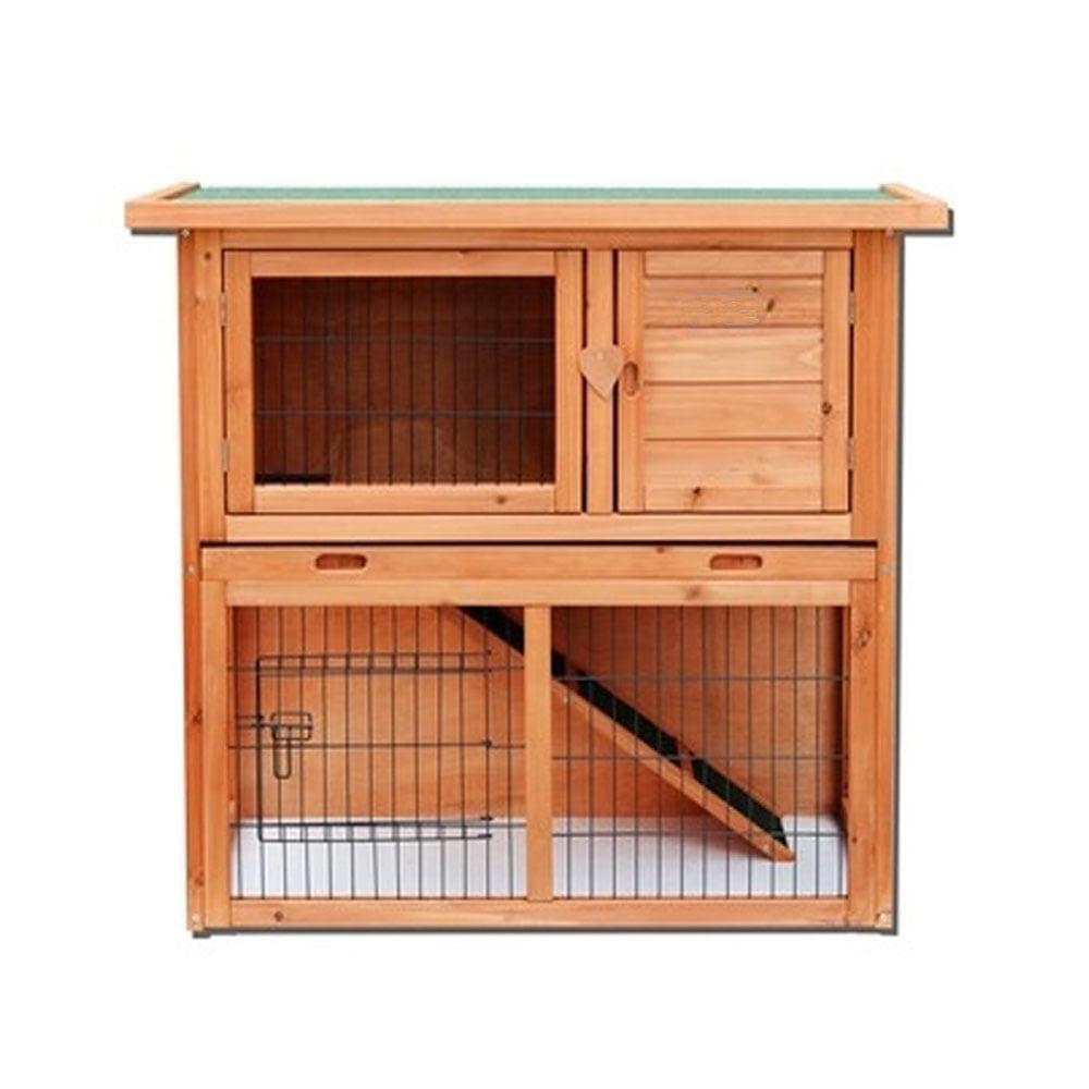 """Ktaxon 36"""" Waterproof Wooden Rabbit Hutch by"""