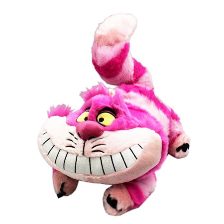 Disney's Alice in Wonderland Laid Prone Cheshire Cat Plush Toy