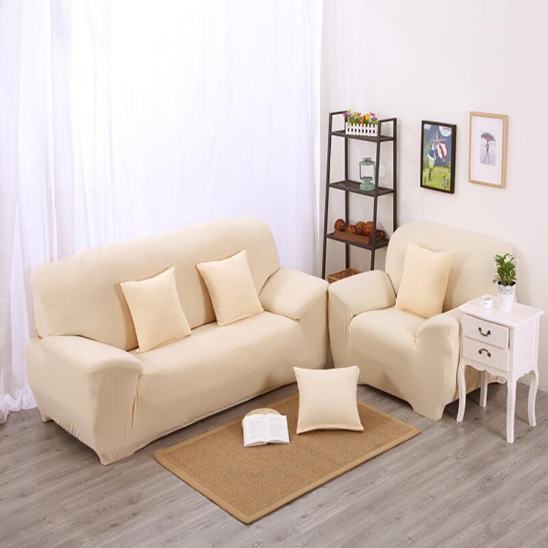 Mgaxyff Sofa Couch Cover Elastic Soft Sofa Slipcover