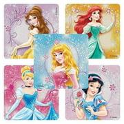 Disney Princesses Glitter Stickers - Party Favors - 50 per Pack