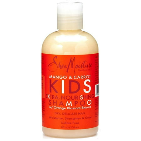 Shea Moisture  Kids Extra-Nourishing Shampoo, Mango & Carrot 8 oz (Pack of 6)
