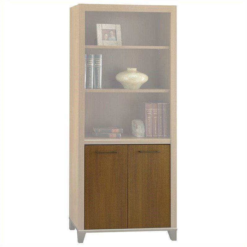 Bush Achieve Door Kit for Bookcase Warm Oak