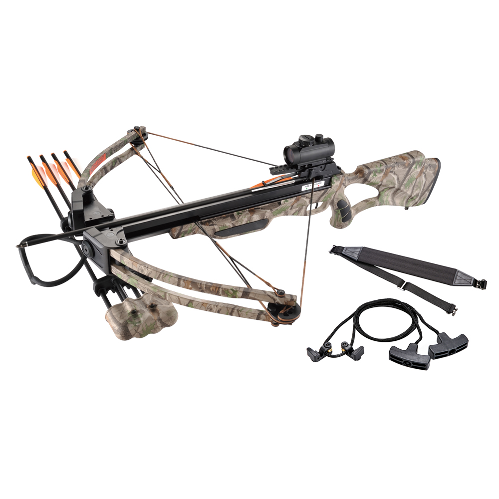 Leader Accessories Crossbow Package 175lbs 285fps Archery...
