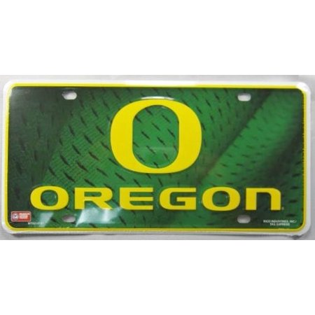 - UNIVERSITY OF OREGON METAL LICENSE PLATE DUCKS SIGN NEW L387