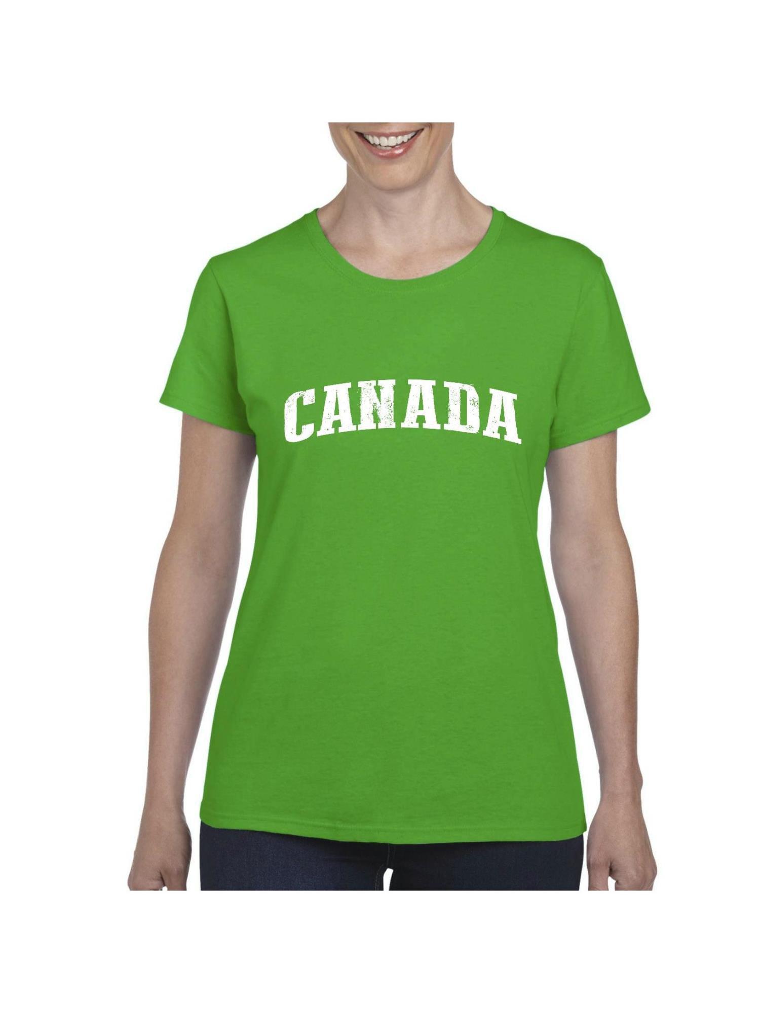 a17971e7 IWPF - Canada Flag Canadian Gift Women's Short Sleeve T-Shirt ...