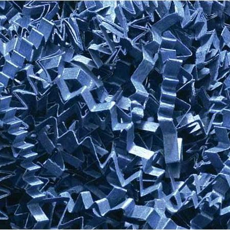 (1/2 LB Crinkle Cut Paper Shred - Navy Blue - Gift Basket Filling by Uline)