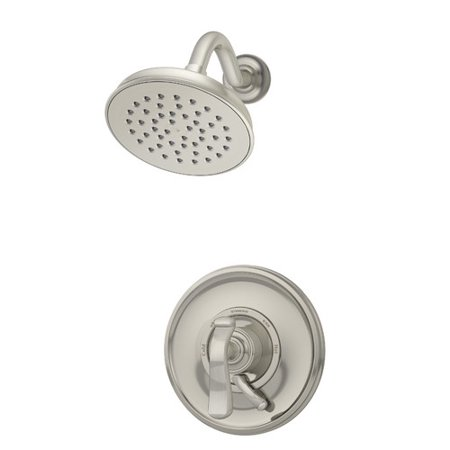 Winslet Single Handle Shower Faucet with Integral Volume Control in Satin Nickel