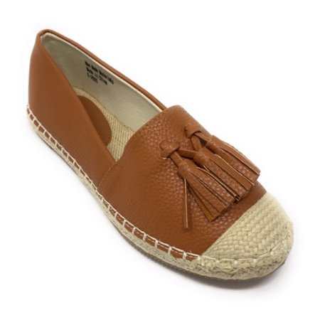 Women's Forever Young Faux Leather With Tassels Espadrille