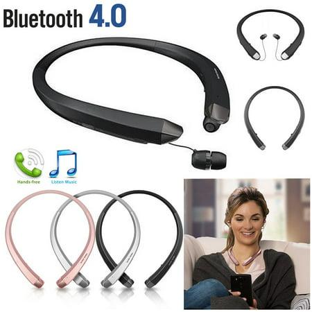 - Bluetooth Headset 4.0 NeckBand Headset Sport Stereo Wireless Headphone Earphone for iPhone Samsung LG