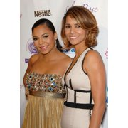 Ashanti, Halle Berry At Arrivals For Silver Rose Gala And Auction Benefit, Beverly Hills Hotel And Bungalows, Los Angeles, Ca April 18, 2009. Photo By Michael GermanaEverett Collection Celebrity