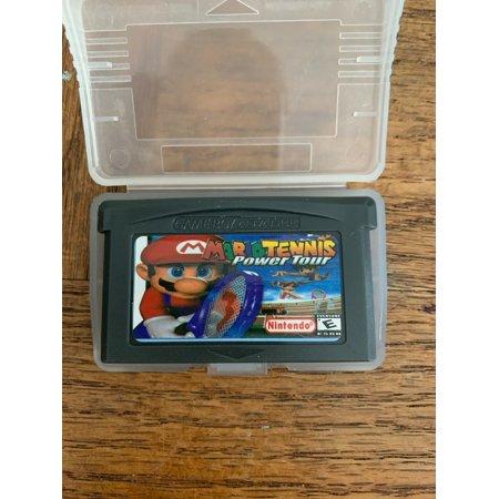 Mario Tennis Gameboy Advanced Game (Best Gameboy Rpg Games)