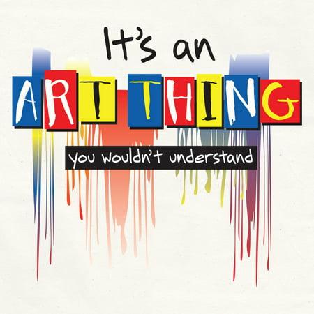 Attitude Artist Apron Natural-Art Thing - image 1 de 1