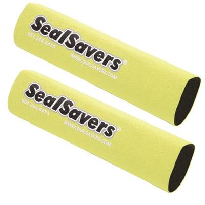 Seal Savers Fork Covers 44-50mm Fork Tube, Short Yellow for Husqvarna TXC 449 2012