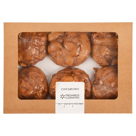 Walmart Grocery Freshness Guaranteed Apple Fritters 6 Count