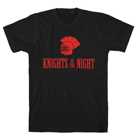 LookHUMAN Knights of the Night Black Men's Cotton - Central Florida Knights Shirts