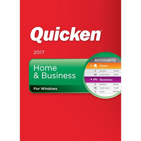 Quicken 2017 Home & Business Software for Windows