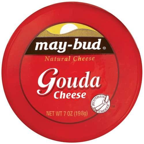 May-Bud Gouda Natural Cheese, 7 oz