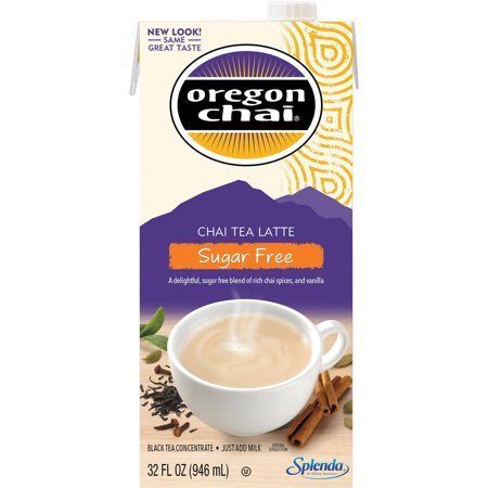 Oregon Chai Original Sugar-Free Chai Tea Latte Concentrate,