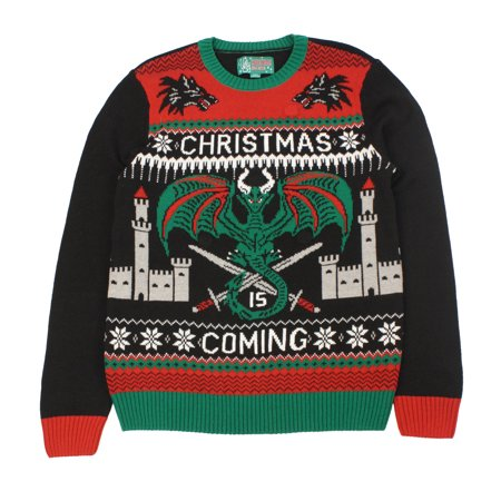 e69c002469b Ugly Christmas Sweater - Ugly Christmas Sweaters Plus Size Women s Game Of  Thrones Light Up Sweater-Medium - Walmart.com