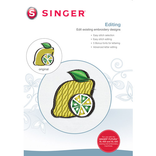 Singer Advance Editing Software