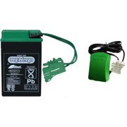 Peg Perego 6 Volt Green Battery and Charger Combo Pack - IAKB0509 MECB0085U